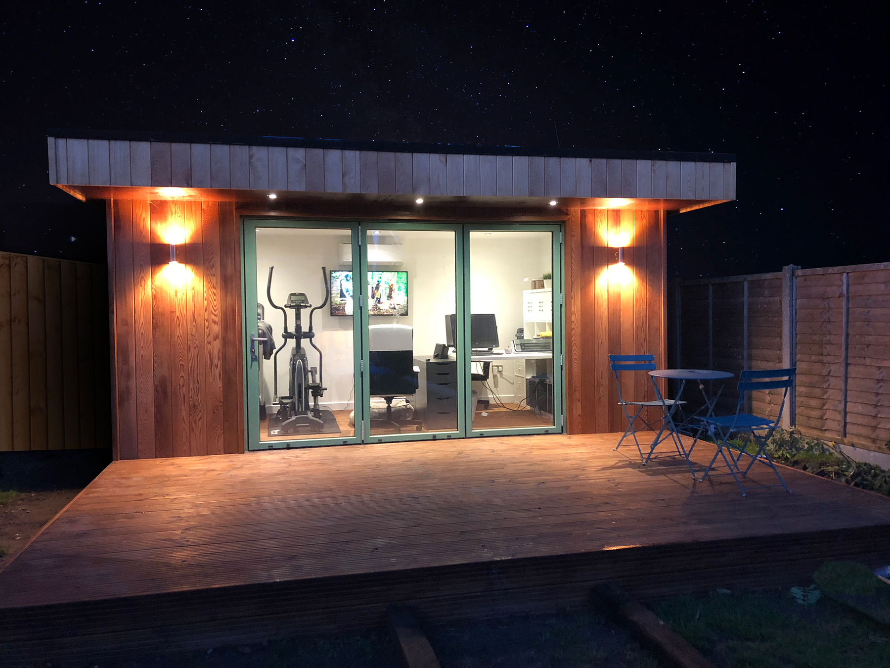 Night Sky Garden Room