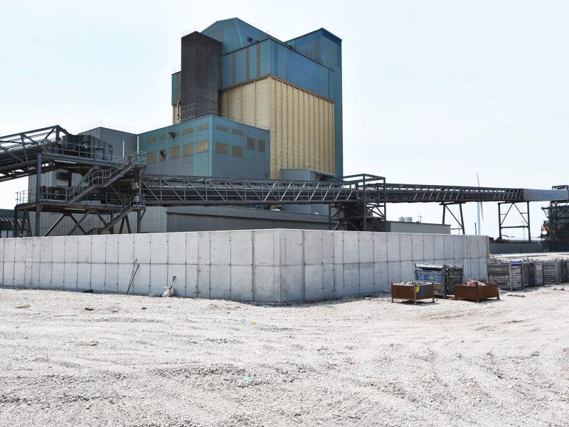 Progress at Liverpool Asphalt Plant
