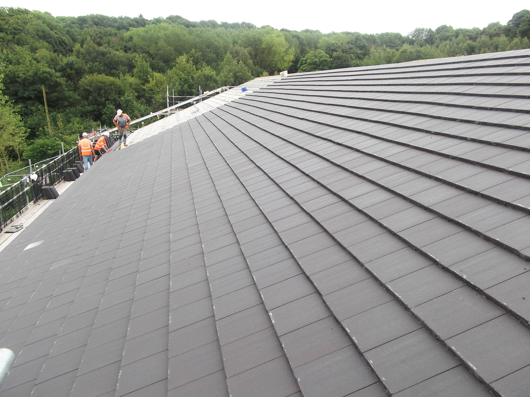 Tiled roof at fauld