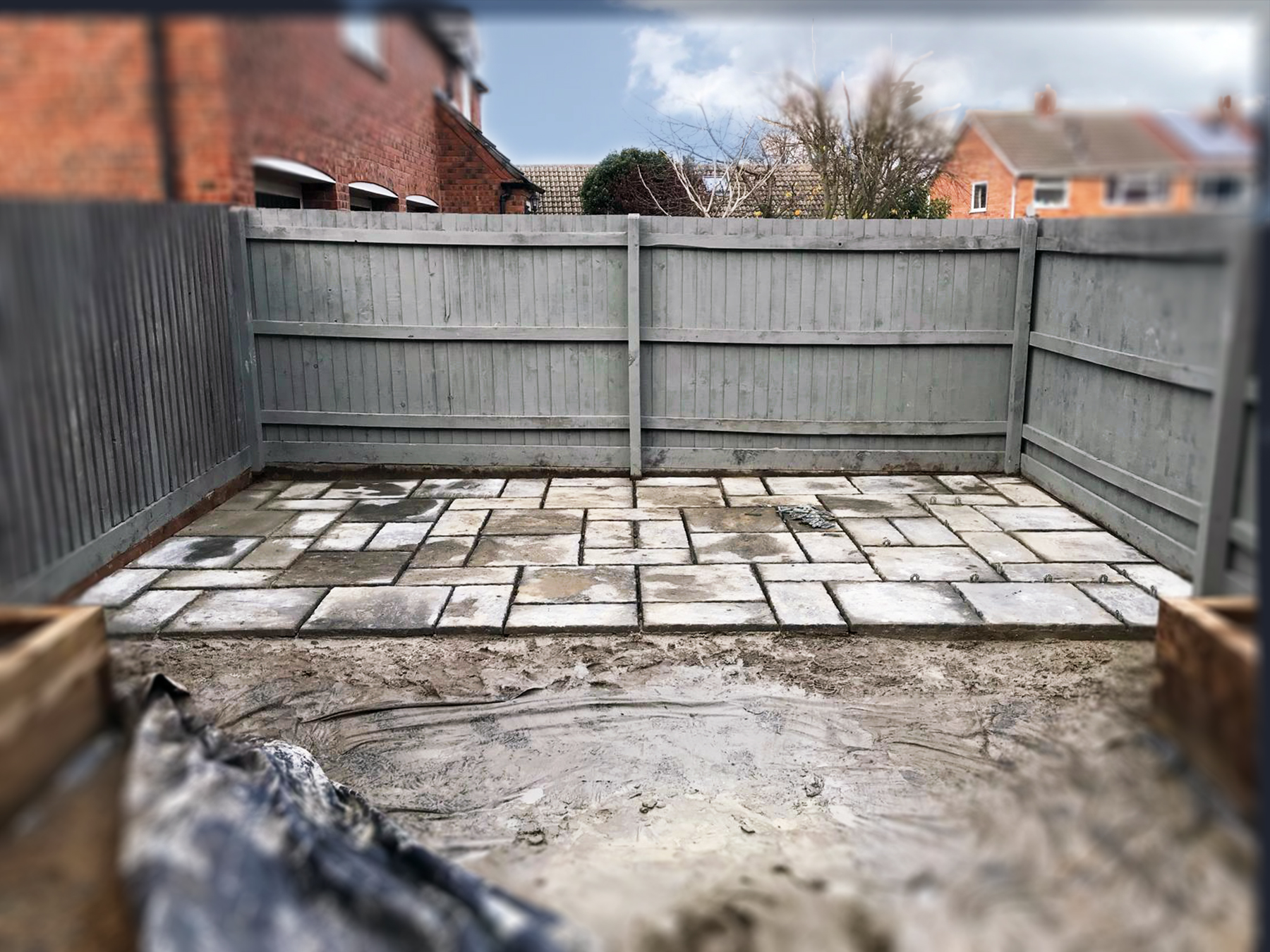 Landscaping - Paving works